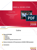 ISO 38500 vs ISO 27000