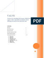 VALVE Report