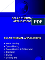 SolarThermal Applications