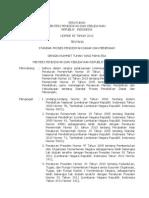 Permendikbud No. 65 Tahun 2013 (Tentang Standar Proses Pendidikan Dasar & Menengah)