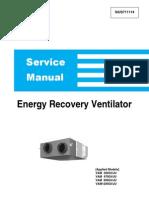 SiUS711114 Energy Recovery Ventilator Service Manual