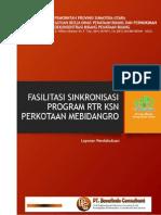 laporan pendahuluan pekerjan Fasilitasi Sinkronisasi Program RTR KSN Perkotaan Medan, Binjai, Deli Serdang, dan Karo (MEBIDANGRO).