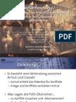 Int. Konfliktforschung I - Woche 11 - Polit-Ökonomische Motivationen