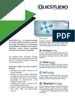 Questudio Inc. - Print Catalog & PIM Software Brochure