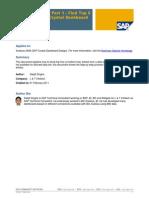 Xcelsius Tricks Part 1 - Find Top 5 Entries in SAP Crystal Dashboard Design