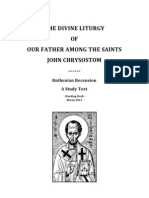 Study Liturgicon Chrysostom