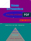 How to Face an Interview - PPT