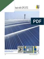 1.Solar Process Heat With Cpc Etc