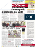 El Valle 16 de junio 2014