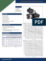 Grundfos CM DataSheet