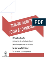 Takaful Industry Today Tomorrow 2013