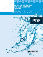 Main Report of the First Water Sanitation Trust Fund - Impact Study