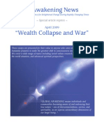 Wealth Collapse and War - Apr 2009