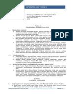 Spesifikasi Teknis PAVING Pasar Pare