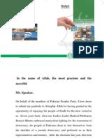Sindh Budget Speech 2014-15
