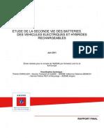 Rapport Seconde Vie Des Batteries-Version Finale