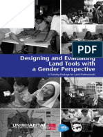 Designing and Evaluating Land Tools With a Gender Perspective