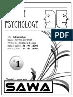 Psychiatry 1