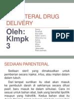 Parenteral Drug Delivery