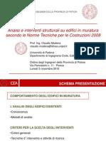Lezione 2012-11-05 Prof Modena