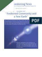 Awakened Community - Nov 2007