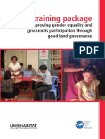 Improving Gender Equality and Grassroots Participation Through Good Land Governance