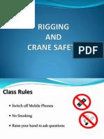 Cranes, Rigging and Banksman