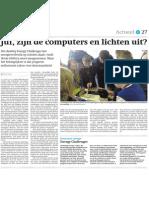 Energy Challenges Fryslân - 13 juni 2014 in het Friesch Dagblad