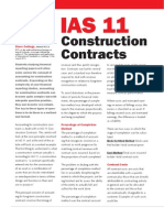 IAS 11 Construction Contracts Summary With Example p4g