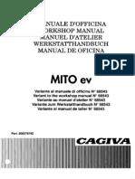 Cagiva 1994 Mito Ev 125 Manuale Di Officina