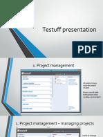 Testuff Presentation