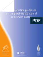 Manual for Psychosocial Care of Cancer