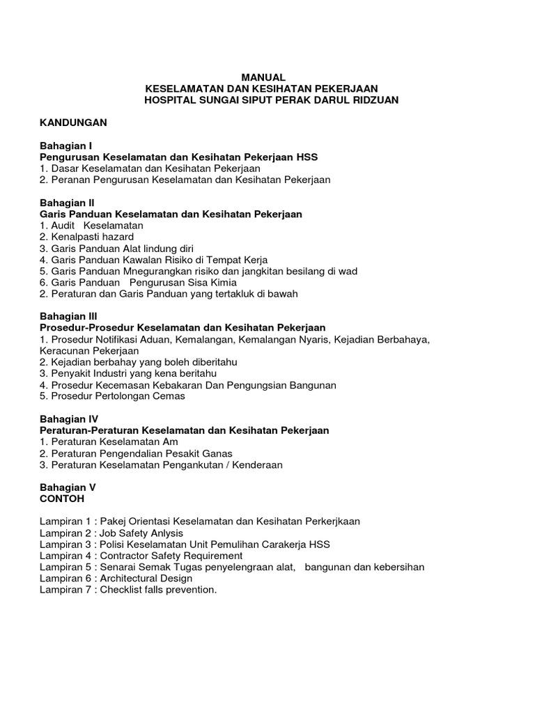 manual jkkp rh scribd com Teks Prosedur Manual Prosedur Kerja