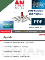 OTM Workflow