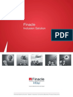 Finacle Inclusion - A Multi Channel Solution