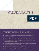 Value Analyse