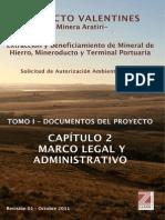 Tomo I Capitulo 2 Marco Legal y Administrativo Megamineria Uruguay