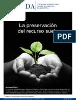 10 Informe de Fada - La Preservacion Del Recurso Suelo