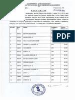 VAO Revised Result 2014