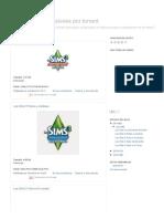 Los sims 3 + expansiones por torrent