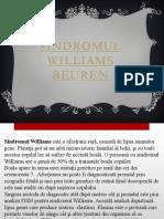 Sindromul Williams Beuren