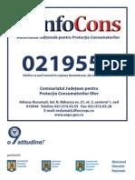 0219551 Ilfov Model Placuta Afisare Agenti Economici