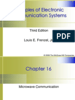 Chapter 16 Microwave Communications