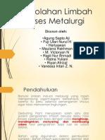 Pengolahan Limbah Baja Kelompok 1