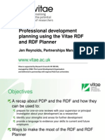 RDF Planner Session Slides