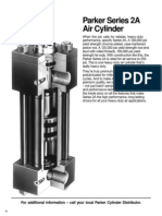 Parker Series 2A Air Cylinder