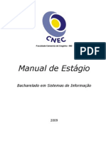 Manual de Estágio BSi Faceca 2009