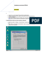 Procedura de Instalare a Serviciului PPPoE1