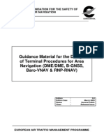 Eurocontrol - Guidance Material for the Design of Terminal Procedures for Area Navigation (DME-DME, B-GNSS, Baro-VNAV & RNP-RNAV) - March 2003 - Edition 3.0