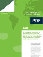 Asda Climate Adaptation Framework Study